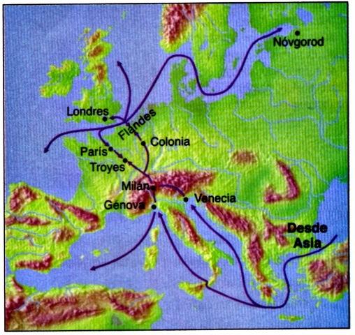 ¿Cómo influyeron los Comerciantes Italianos en las Cruzadas?.