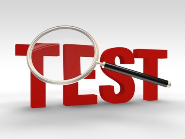 Début des tests