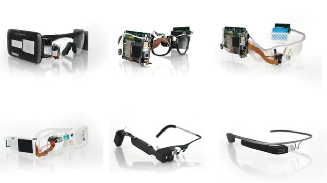 L'évolution des Google Glass