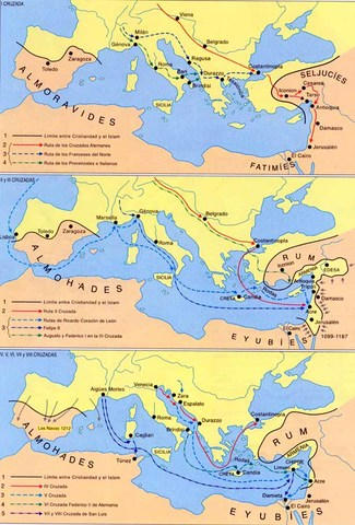 Links sobre las Cruzadas.