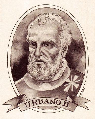 El llamamiento del Papa urbano II