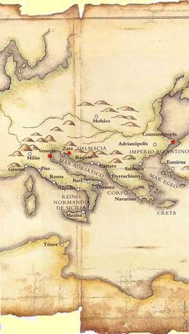 Los Cruzados en la ciudad de Zara