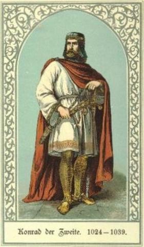 El Rey Conrado II y su ejército son derrotados.