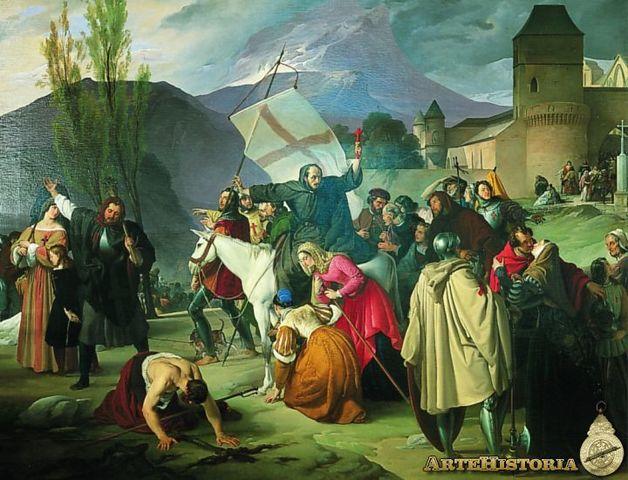 Los turcos selyúcidas aniquilan la Cruzada de Pedro el Emitaño