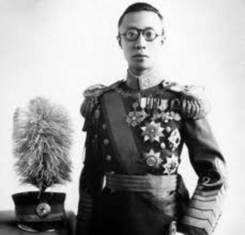 AMPLIACION DEL BLOQUE ORIENTAL - CHINA - MONARQUIA IMPERIAL