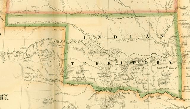 Establishment of Indian Territory