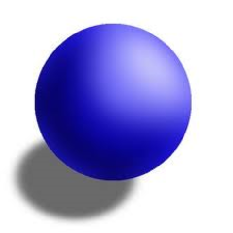Indivisible, solid sphere model