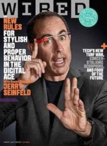 Les Google Glass font la couverture de Wired