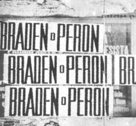 ELECCIONES 1946 - FARRELL