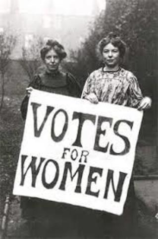 Women In South Australia Are Allowed To Vote