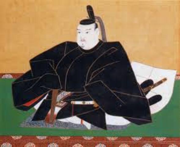 Tokugawa shoguns rule Japan