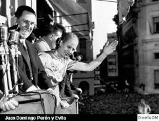 SEGUNDO GOBIERNO DE PERON