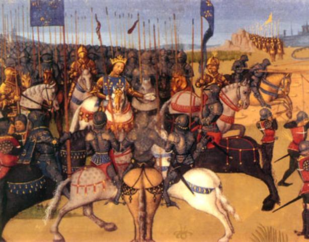 El ejército de Federico I Barbarroja derrota a los turcos.