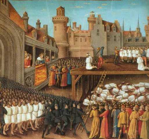 Batalla de Acre por Ricardo I