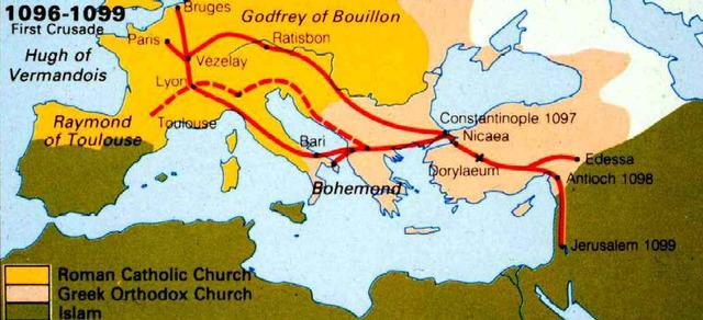 Crusaders Arrive in Jerusalem