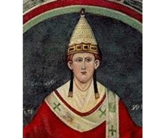 El Papa Inocencio III proclama una nueva cruzada