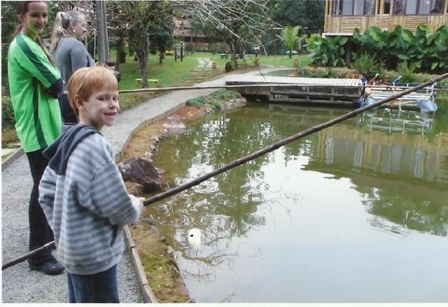 Quando Arthur aprendeu a pescar