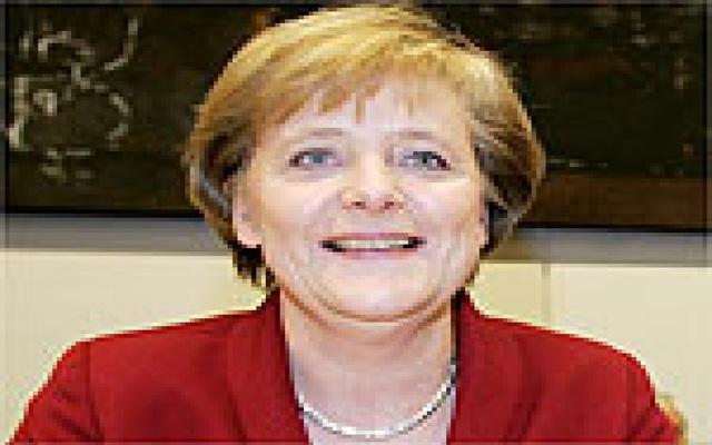 Política-Primeira mulher a dirigir a Alemanha