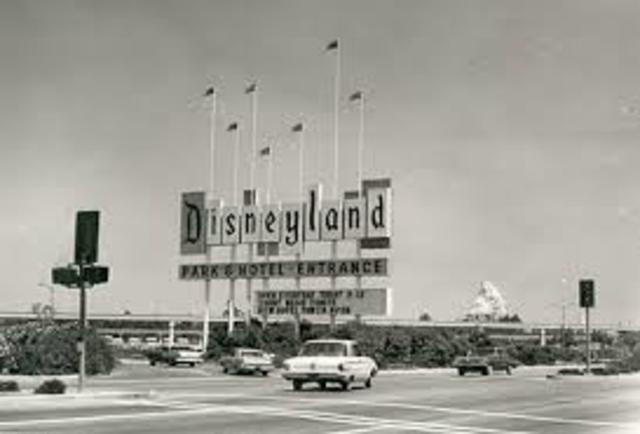 The First Disney Park opens!