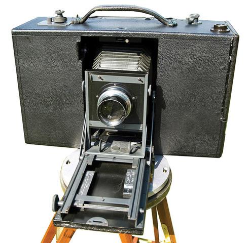 First Panoramic Camera - The Megaskop