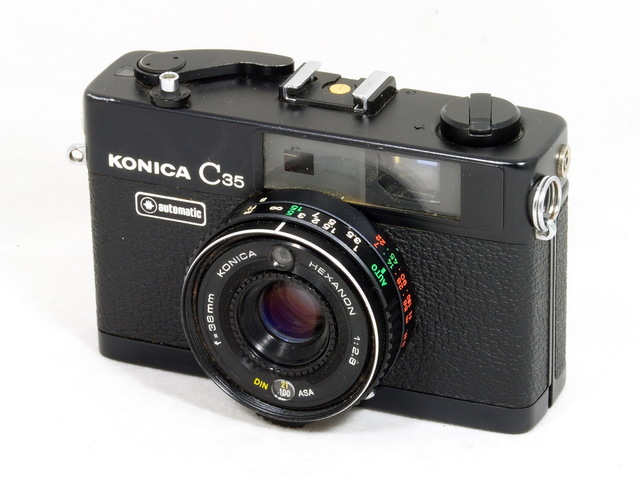 First Point and Shoot, Autofocus Camera - Konica C35 AF