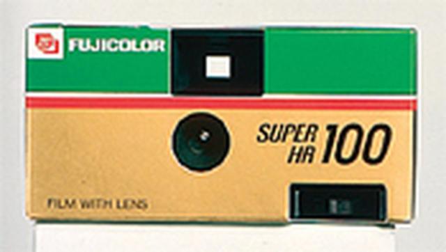 First Disposable Camera - Fujicolor QuickSnap