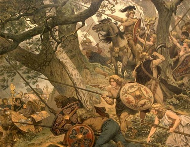 Завоевание Британии  германскими племенами саксов