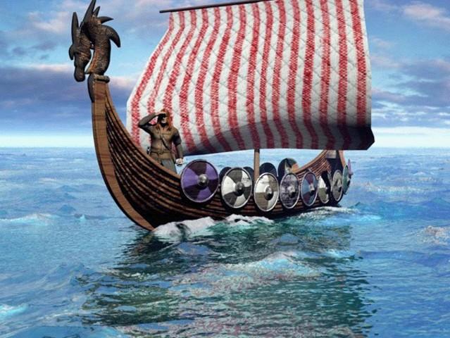 Завоевание англосаксонских земель датчанами.
