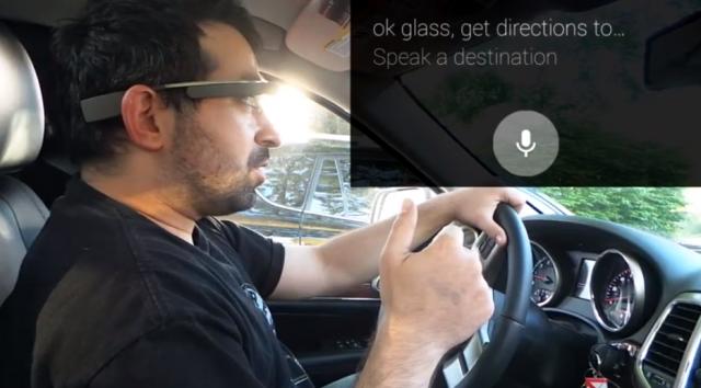 Google Glass ou smatphone au volant: quel est le pire?