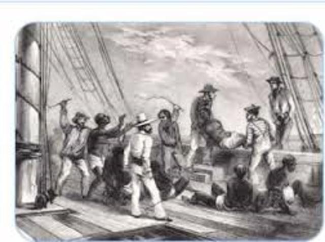 Trans-Atlantic Slave Trade begins
