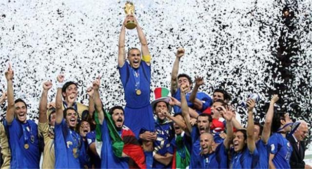 Italia tetracampea mundial.