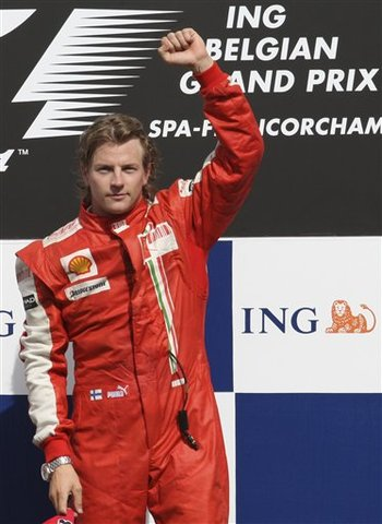 Raikkonen campeão de formula 1