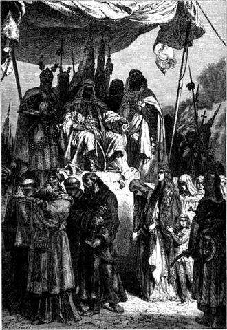 Salah al-Din Liberates the City of Jerusalem