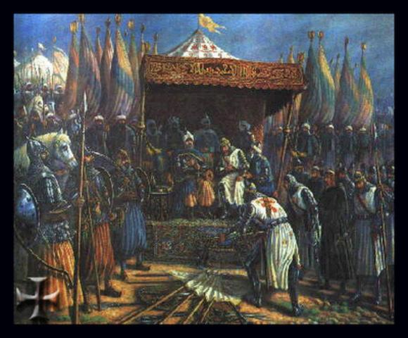Contrato entre Ricardo y Saladino