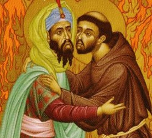 St. Francis Assisi Visits the Sultan