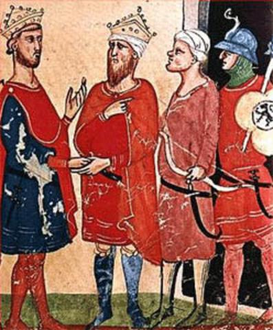 Peace Treaty Between Frederick II of Hohenstaufen and Sultan al-Kamil