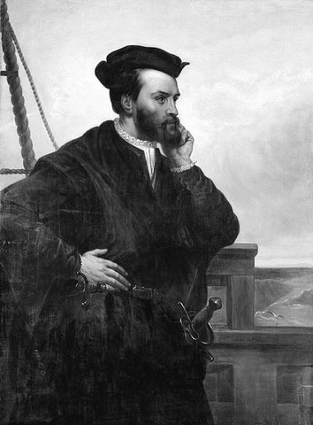 Jacques Cartier first explores