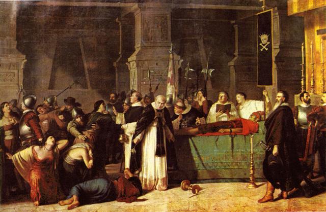 Last Incan Emperor Executed
