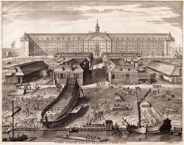 Dutch merchants found the Dutch East India Company.