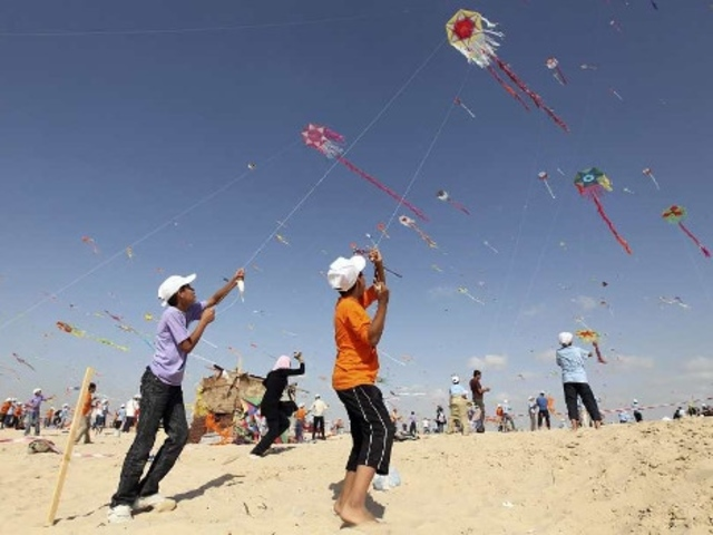 Amir and Hassan Win the Kite Tournament