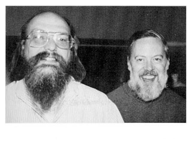 Kenneth Thompson y Dennis Ritchie