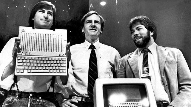 Steve Jobs y Steve Wozniac.