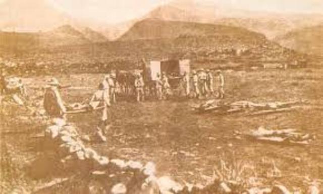 Derrota del Barranco del Lobo (Maria Puebla)