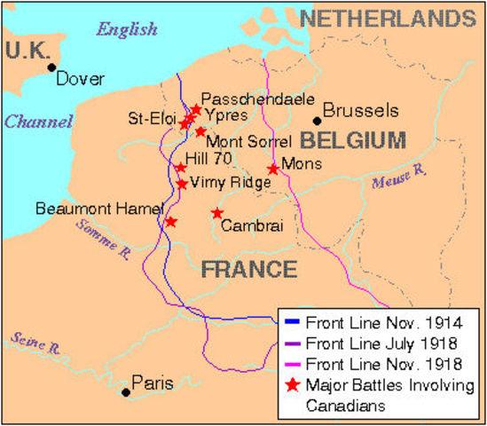 World War I  1914–18