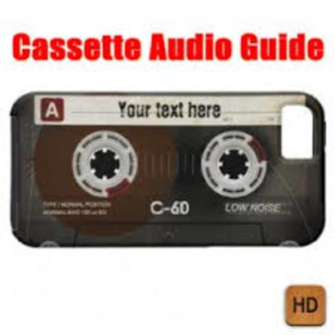 Cassette  audioguide