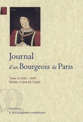 Journal d'un burgeois