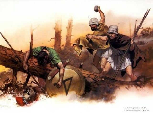 Восстание илотов в Спарте