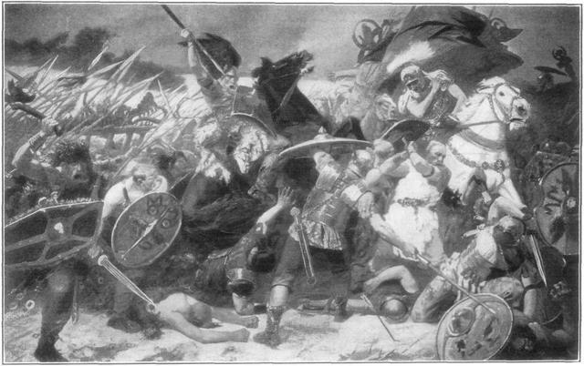 Проникновение вандалов с аланами и свевами в Испанию.