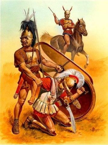 Племена вынуждены признать римский протекторат