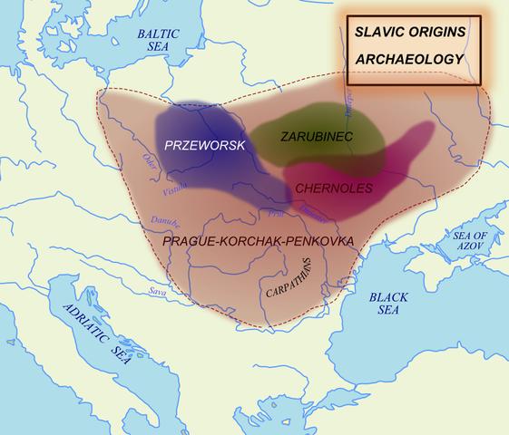 Форсирование славянами Дуная в VI в.